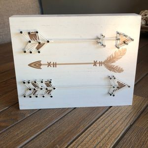 Other - String Arrow wall Art